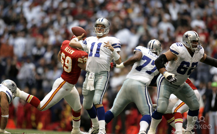 Bledsoe's Late-Game Heroics Lift Cowboys Over Chiefs 31-28