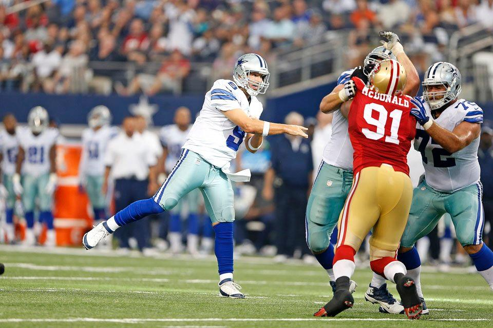 Romo's Abysmal Outing Leads To Season-Opening Defeat, Concerns For Health