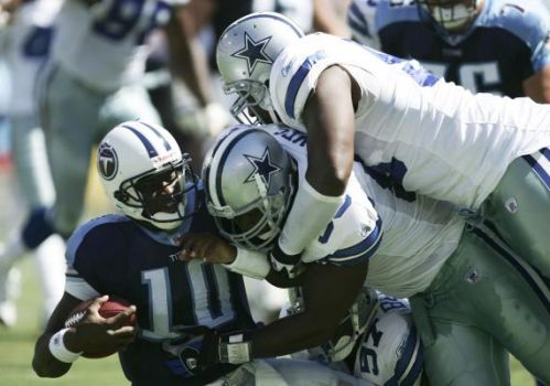 Cowboys Spoil Vince Young's NFL Debut With 45-14 Trouncing Of Titans