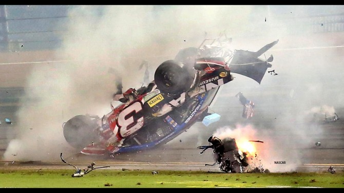 NASCAR, the Dallas Cowboys and Hard Hitting Crashes