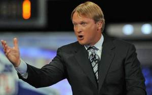 Jon Gruden was nothing but hype about the Cowboys!