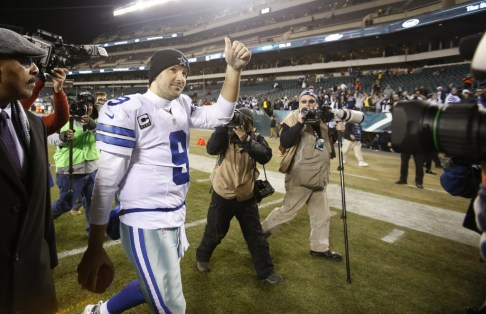 Tony Romo led the Cowboys to an NFC East title and a playoff victory last year.  But, in the eyes of his critics, the mercurial QB will have to prove himself all over again in 2015.