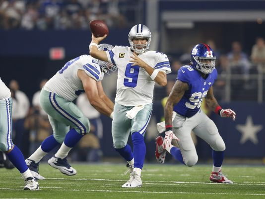In addition to leading the Cowboys to a comeback victory over New York, Tony Romo also completed 80-percent of his throws.