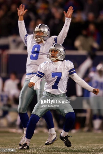 With first place in the NFC East on the line, Tony Romo made his first trip to Giants Stadium a memorable one, overcoming a sluggish first-half to pass for 257 yards and lead the Cowboys to an inspiring 23-20 victory. Romo's 42-yard pass to Jason Witten in the final minute with the game tied set-up Martin Gramatica's 46-yard game-winning field-goal.