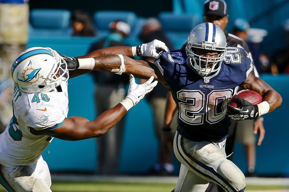 Darren McFadden Experiencing Career Renaissance With Cowboys In 2015