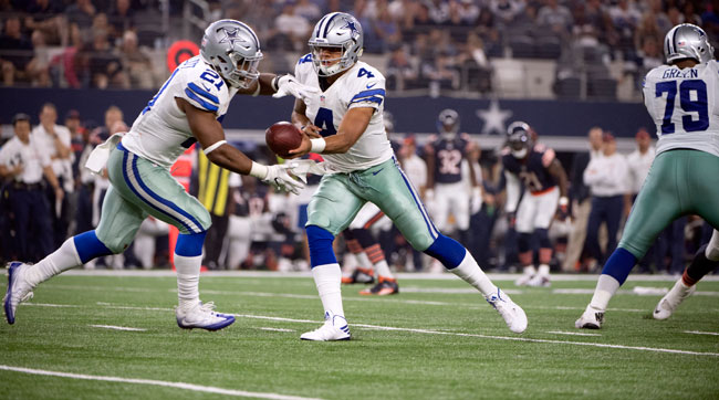 Dak and Zeke are proving to be a formidable rookie tandem!