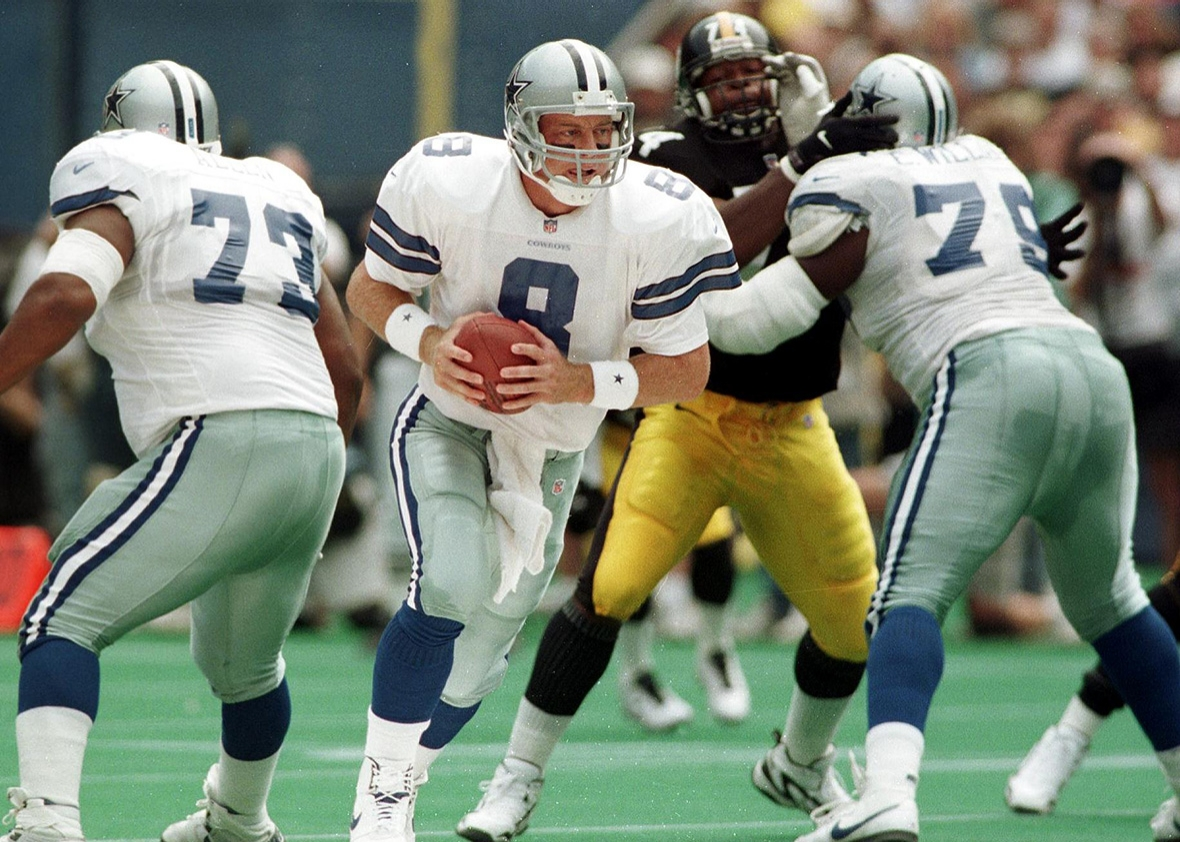 Aikman's 4 TD Passes Highlight 37-7 Victory In Cowboys' Final Visit To Three Rivers