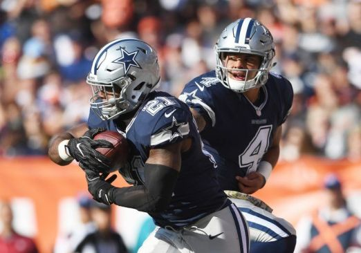 In just twelve games in the professional ranks, Dak Prescott and Ezekiel Elliott have re-set the rookie record-book, while leading the Cowboys to the top of the NFC standings.