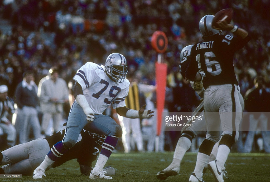 1975 Dallas Cowboys Player Rankings #10 Harvey Martin