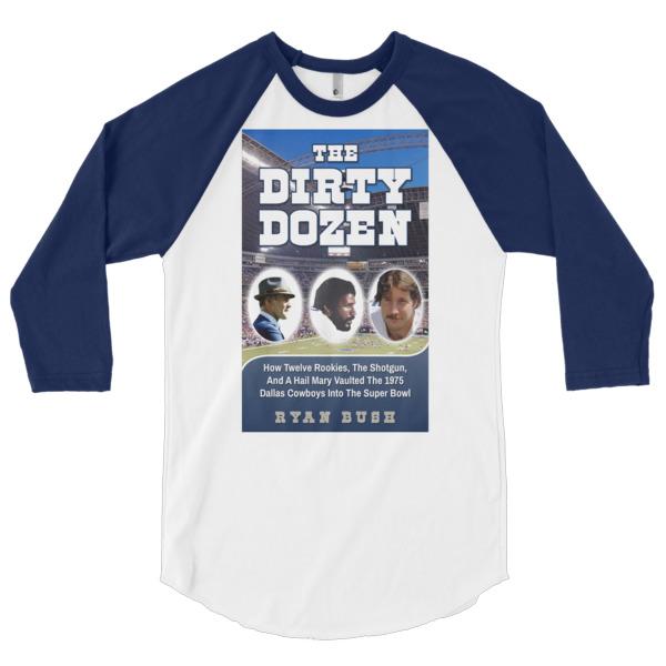 Dallas Cowboys – The Dirty Dozen – 3/4 sleeve raglan shirt