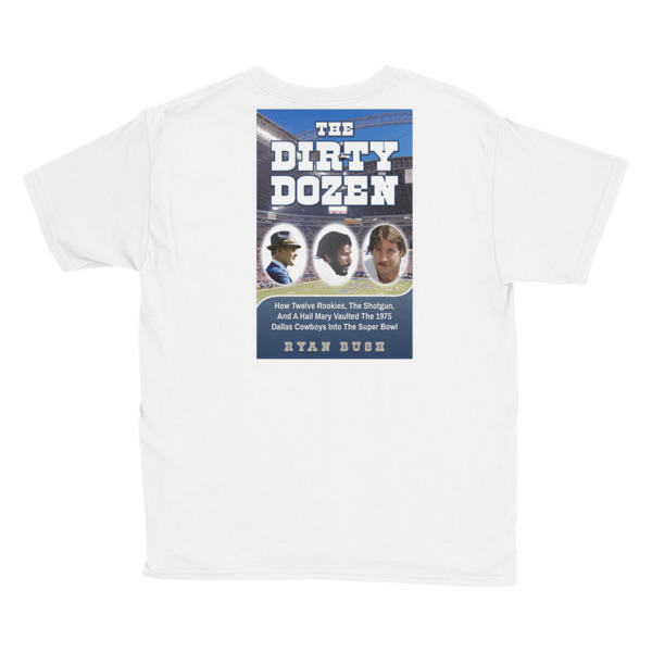 Dallas Cowboys – The Dirty Dozen – Youth Short Sleeve T-Shirt