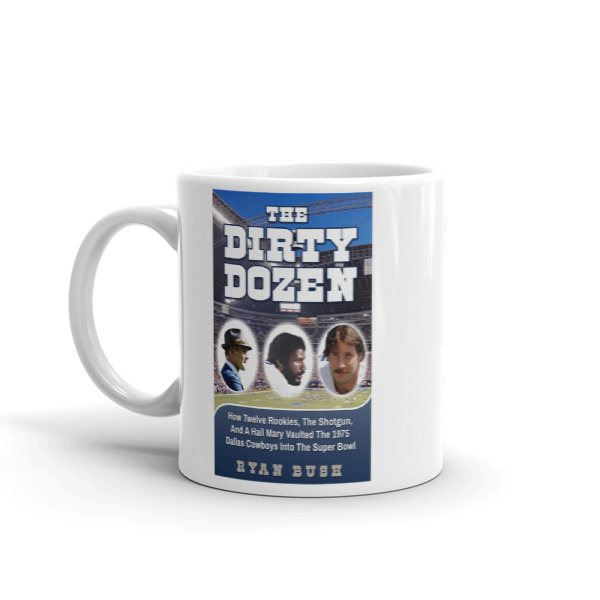 Dallas Cowboys – The Dirty Dozen Book Cover – Mug