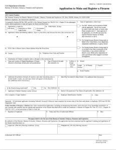 ATF Form 1 – RocketFFL
