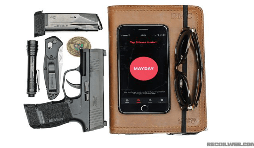 Ryan's EDC Featured in Recoil's Concealment Magazine