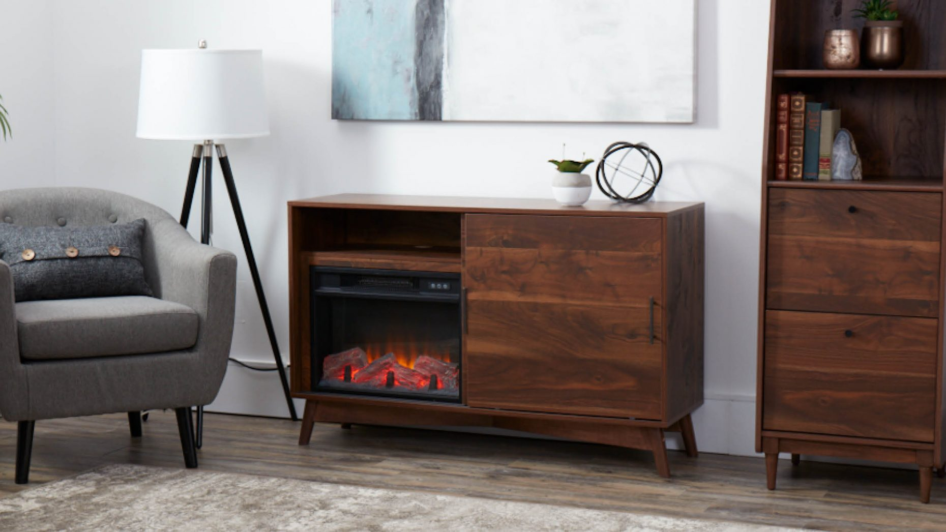 Canvas Electric Fireplaces Ryan Cragg