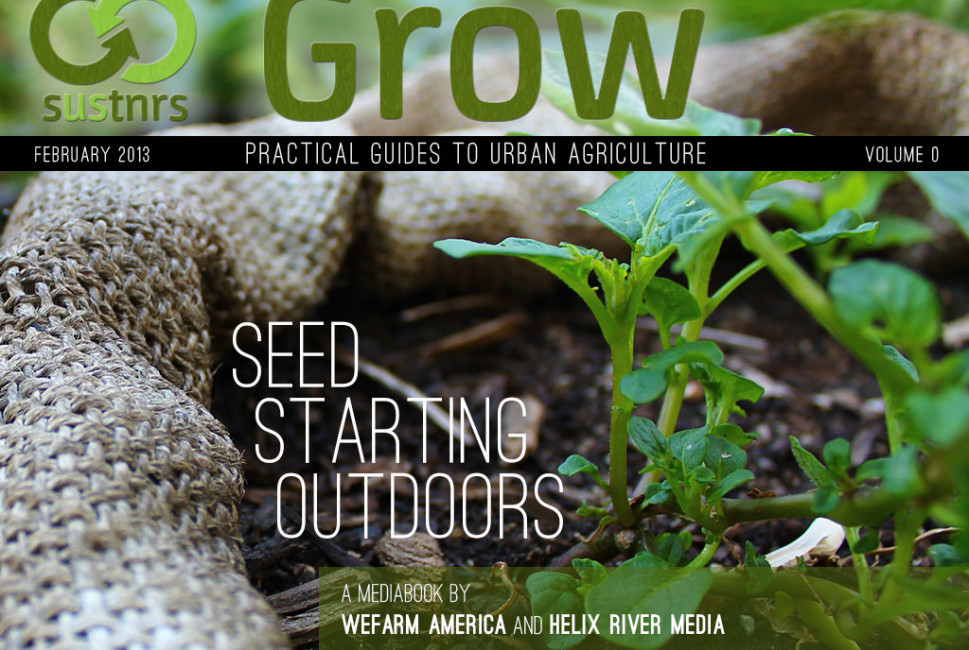 Grow Seed Starting Outdoors multimedia book cover