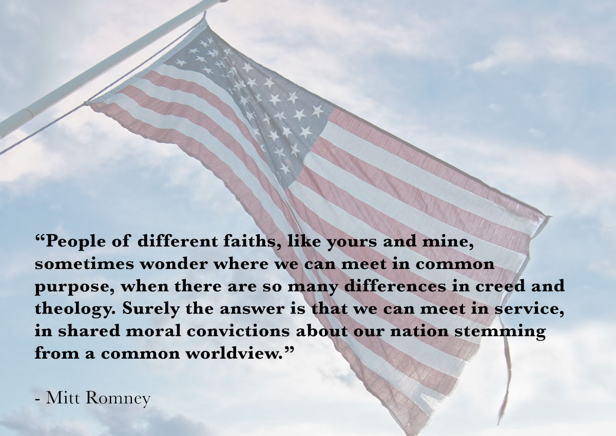 quote about service to country from Mitt Romney