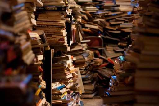 Books drowning in the sea of sameness