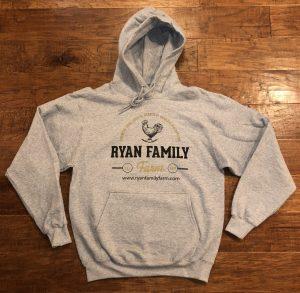 Ryan Family Farm Logo Hoodie