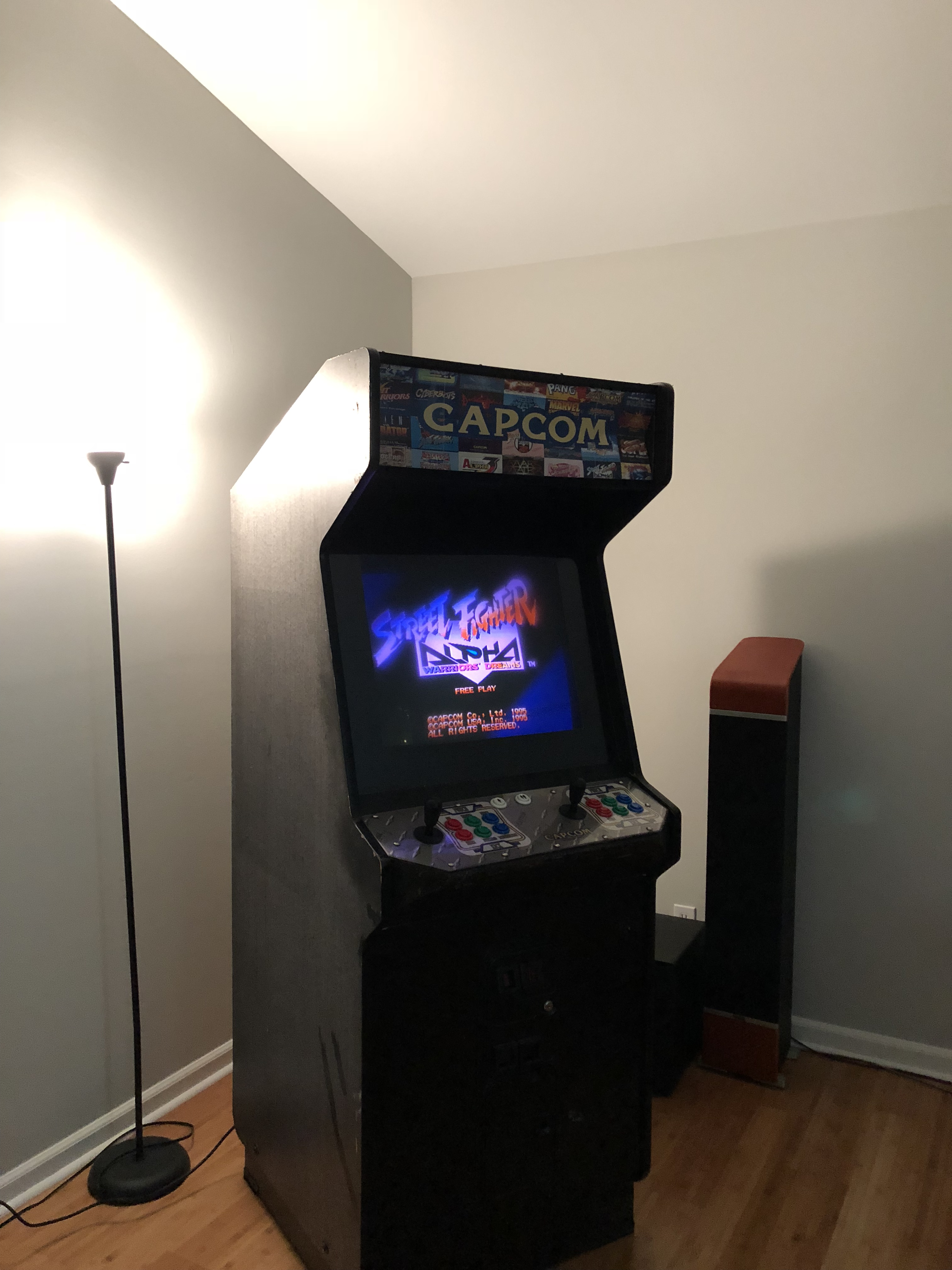 Ryan Baumann Etc Converting A Jamma Arcade Cabinet