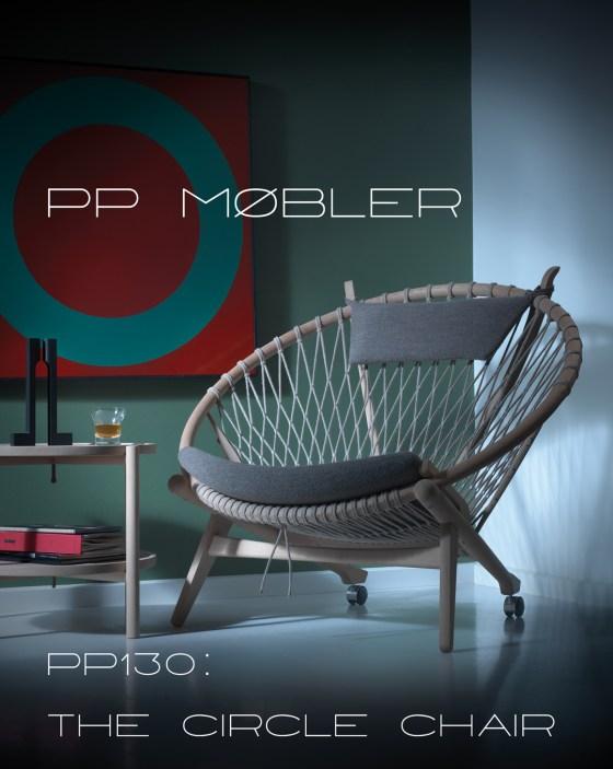 PP Møbler 130 Circle Chair