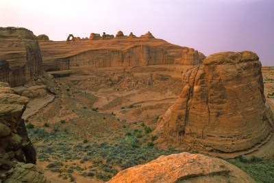 Arches National Park, Moab, Utah - Nikon N8008 - 35mm Film - December 2004