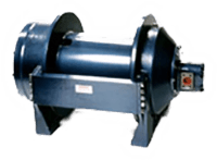Pullmaster Model H50 Rapid Reverse Hydraulic Winch
