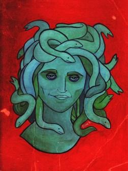 Portrait of Medusa