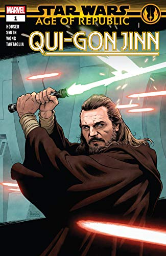 Star Wars: Age of Republic - Qui-Gon Jinn cover