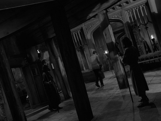 Bonus dutch angle! The Howling Man, 1960