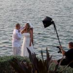 Ryan Merrill Photographing a wedding in South Florida