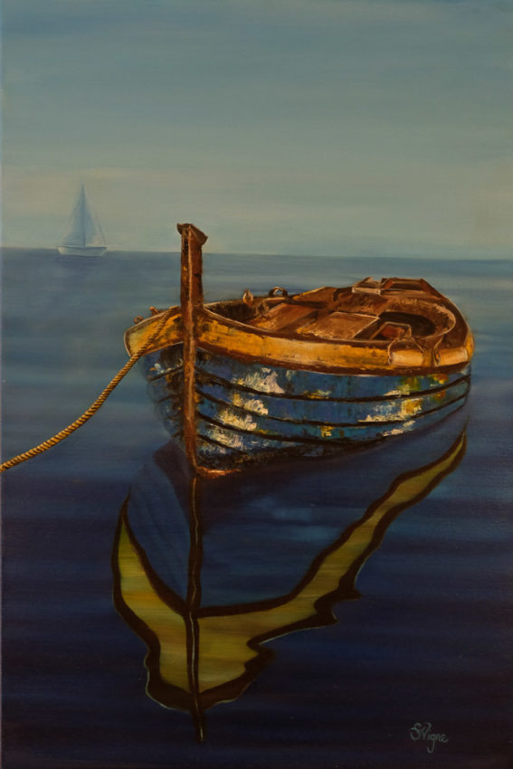 painting-blue-boat
