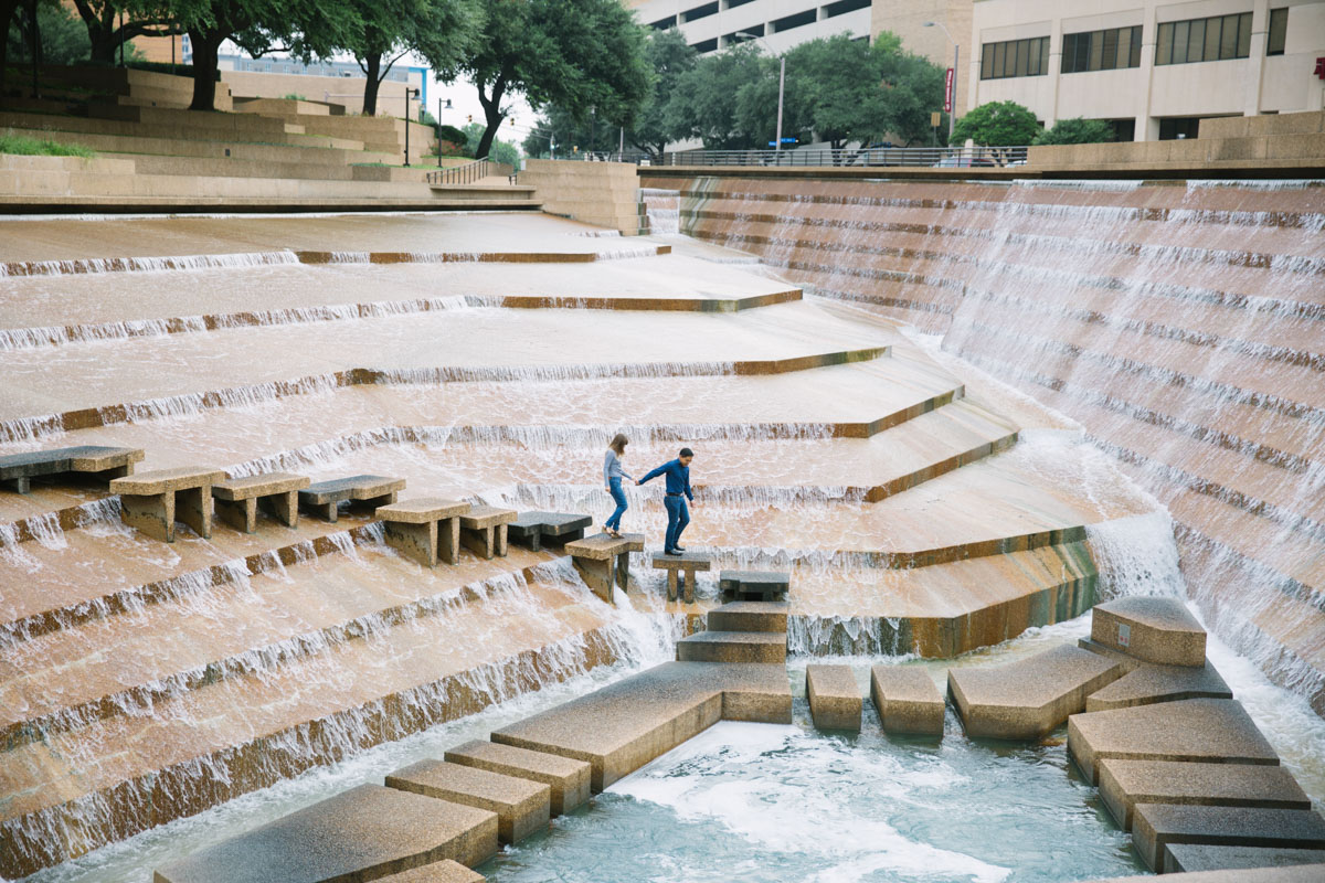 fort worth water gardens proposal