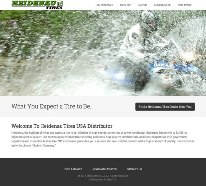 Heidenau Tires USA