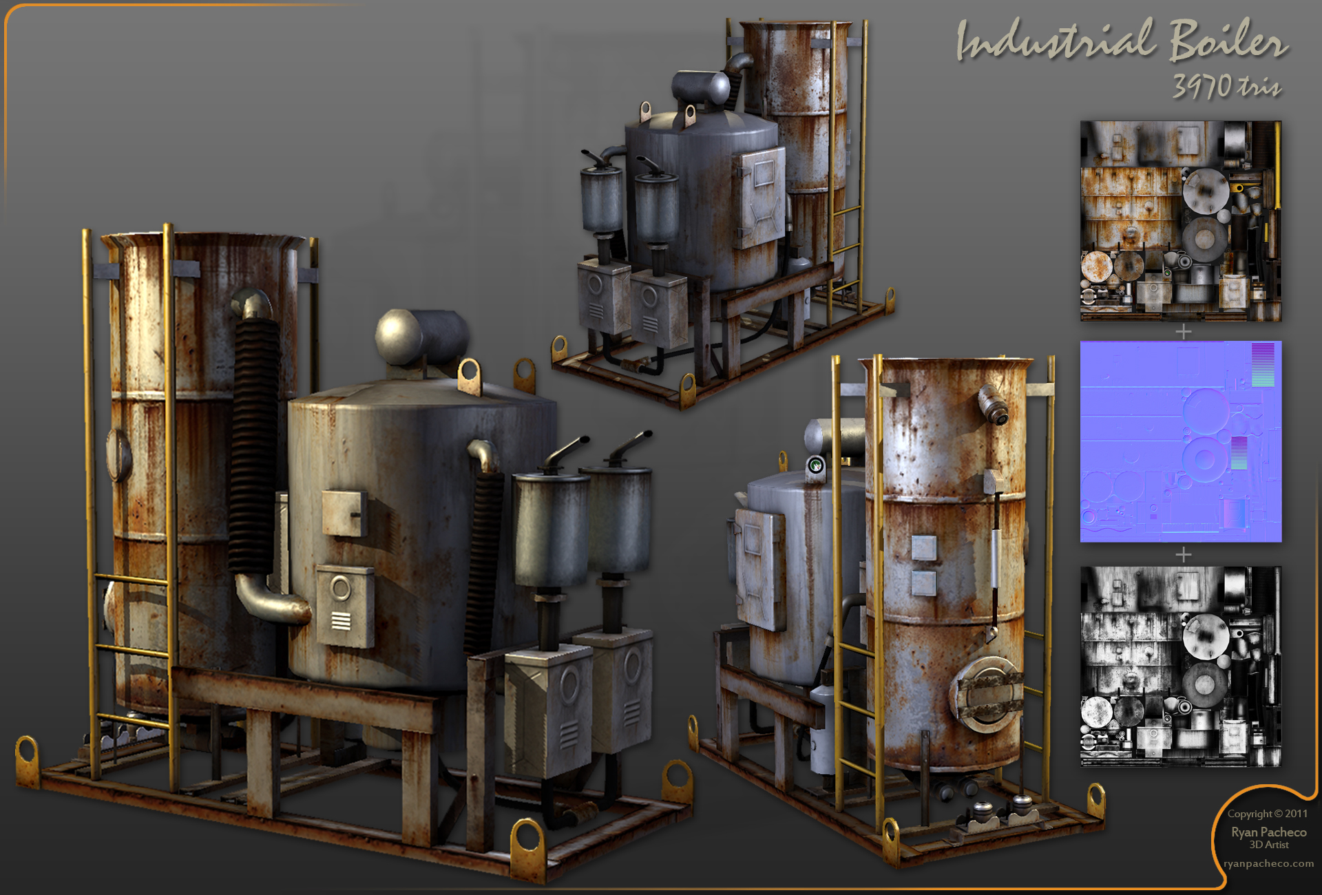Ryan Pacheco 3D Environment Artist
