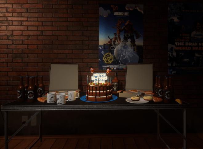 Drax's Birthday Cake 24 August 2017
