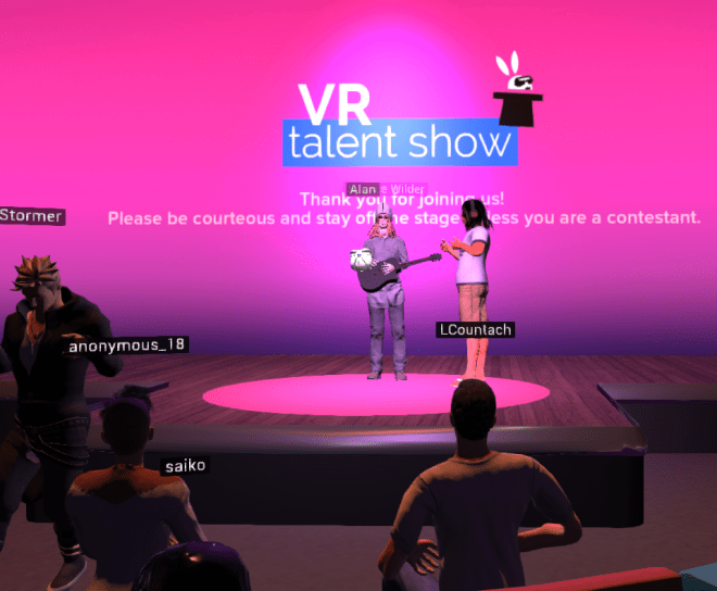High Fidelity VR Talent Show 3 21 April 2017