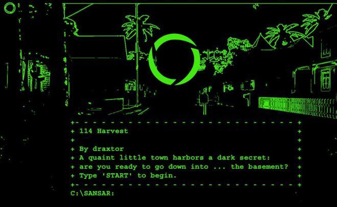 Sansar for MS-DOS
