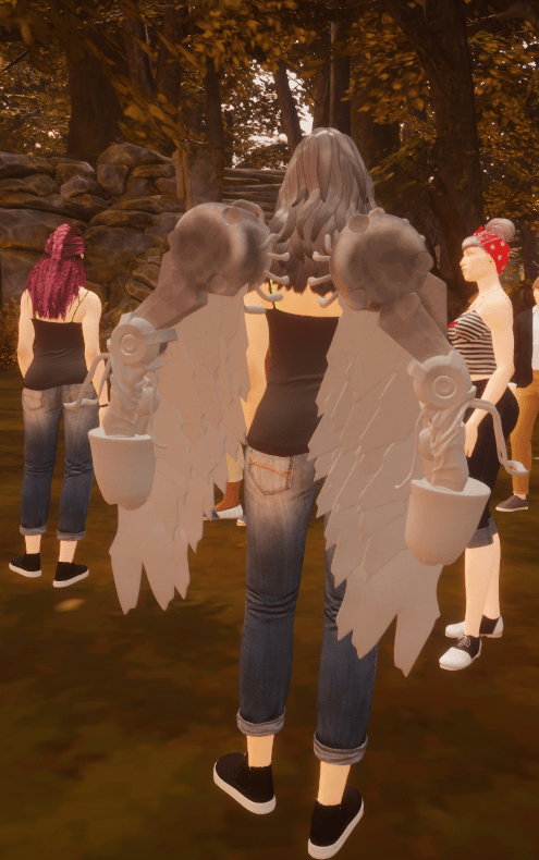 Wings Created in Oculus Medium 9 August 2017