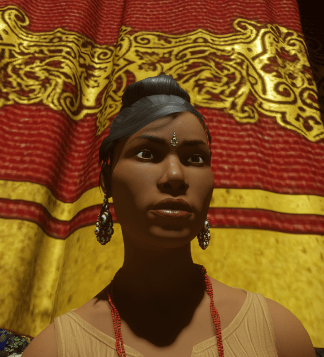 Bindi and Earrings by Cat 3 19 Sept 2017