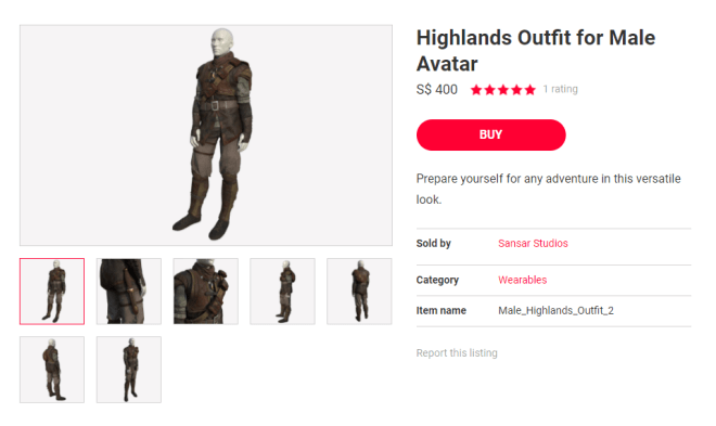 Highlands Outfit 16 Sept 2017