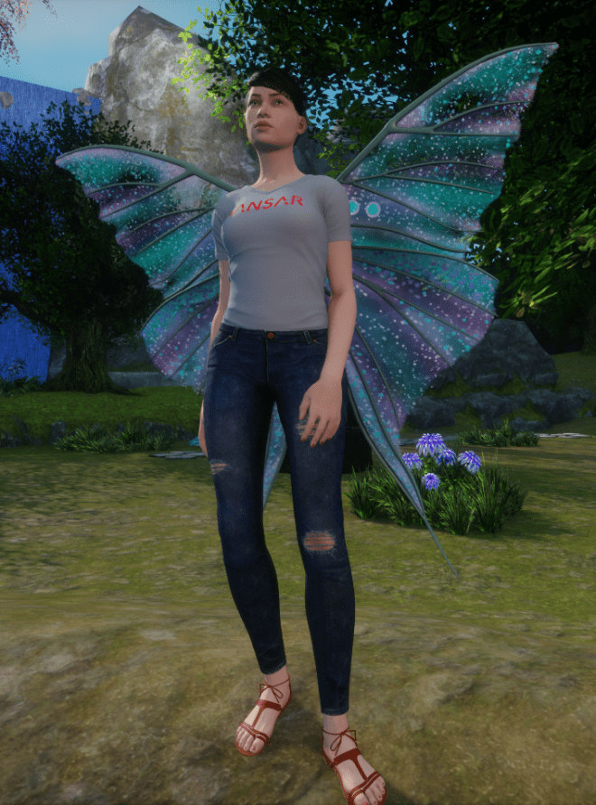 Outfit Outlay Fairy WIngs 3 10 Sept 2017