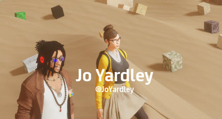 Jo Yardley in Sansar 4 Nov 2017