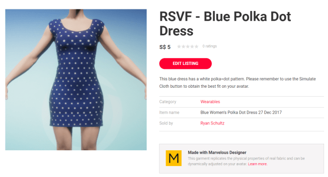 Blue Polka Dot Dress Listing 27 Dec 2017.png