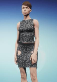Dress with Spots Peeking Through 19 Dec 2017