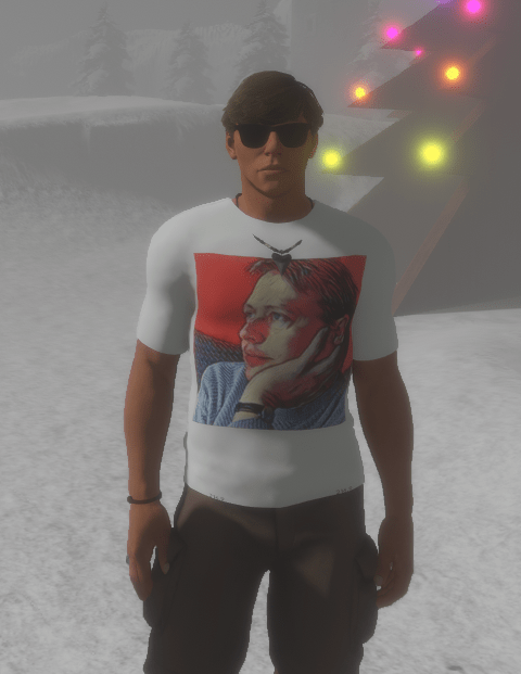 Radioactive Rosca wearing my T-shirt 28 Dec 2017.png