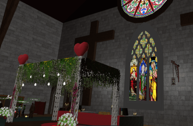 VRChat Church of Marriage 1 24 Feb 2018