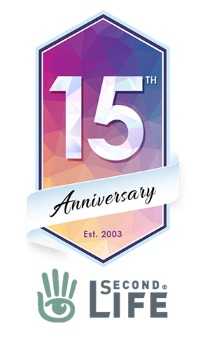Second Life 15th Anniversary