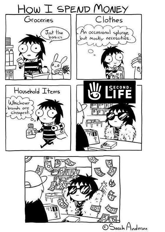 Second Life Money Cartoon.jpg