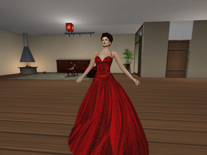 Vanity Fair in Red Satin Shine Gown by Nicky Ree 5 Jan 2018_001.png